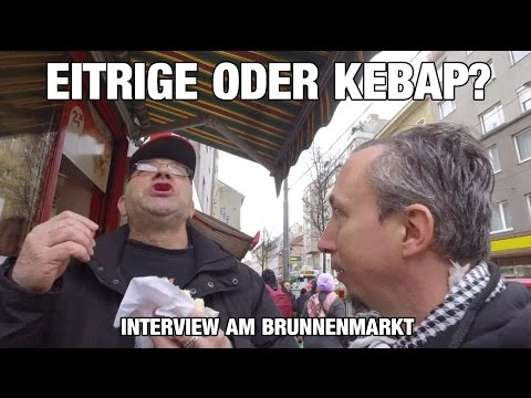 EITRIGE ODER KEBAP? Interview am Brunnenmarkt
