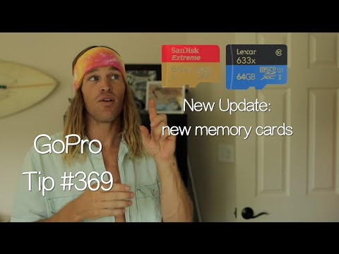 New Memory Cards Update - GoPro Tip #369