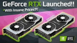 Nvidia RTX Cards Are Here! DON'T BUY THEM!