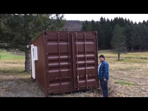 Shipping Container Tiny Home FOR SALE Cargo Container Architecture