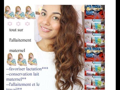 L'allaitement Maternel:travail Et Allaitement *favoriser La Lactation*conservation Lait Maternel* video