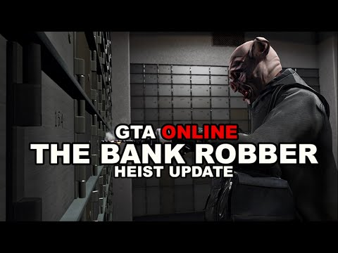 GTA ONLINE BANK HEIST || WITH THE CREW ||TRAILER