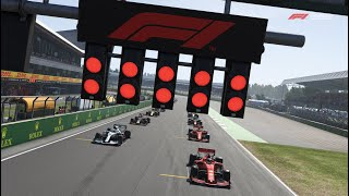 F1 2019 British Grand Prix - Last to First Challenge
