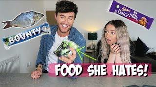 Eating FOOD Anastasia HATES!