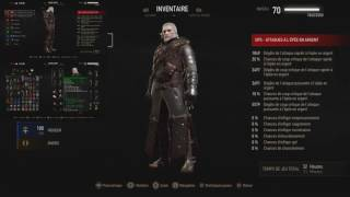 The Witcher 3 Blood And Wine Armure/Arme De L