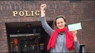 Sophia Wilansky NYC Jew Fascist Anarchist To Deservedly Lose Arm In Morton Cty ND Off-Reso TreatyVio