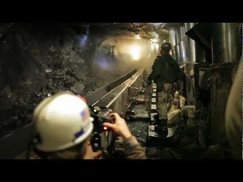 Timberland PRO Coal Mine Photo Shoot - Behind The Scenes