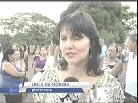 Centenas de fieis acompanharam a missa de Ramos em Ituiutaba