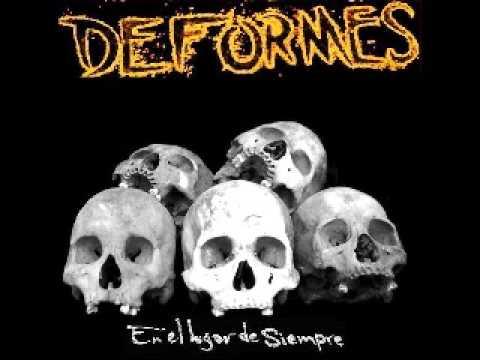 DEFORMES punk rock-hoy mate a mi patrón