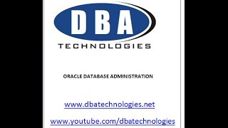 Oracle dba online training -  architecture (2) - What is Oracle database
