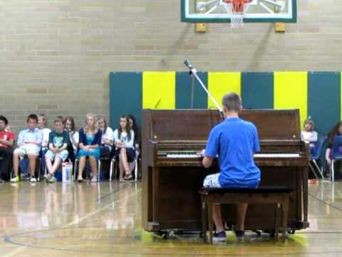 Lake Hazel Middle School Talent Show Derek Johnson My Kind of Perfect