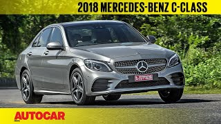 2018 Mercedes-Benz C-class facelift | First India Drive | Autocar India