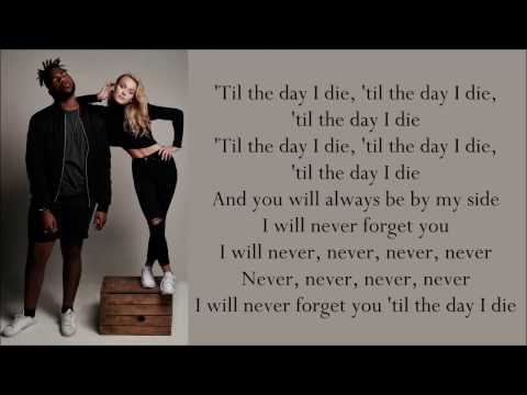 Zara Larsson ~ Never Forget You ft. MNEK ~ Lyrics