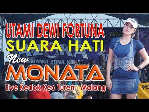 Download NEW MONATA. SUARA HATI .Utami Dewi Fortuna Mp4 baru