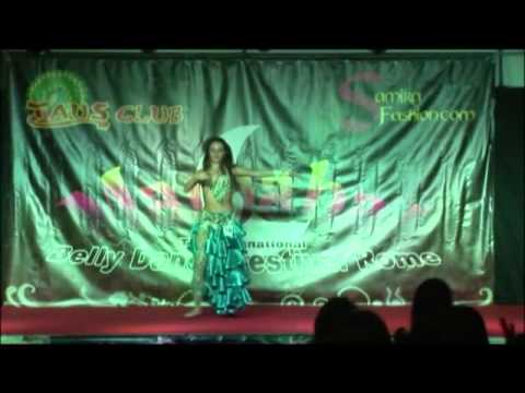 Antonia Valeria Torcasio * 3 place Miss Belly dance Marhaba...