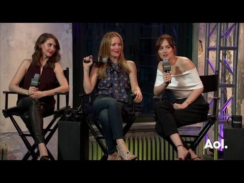 "Dakota Johnson, Leslie Mann and Alison Brie On ""How To Be Single"" | AOL BUILD"