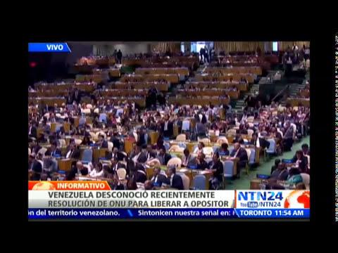 Venezuela es aprobado como miembro no permanente del Consejo de Seguridad de la ONU