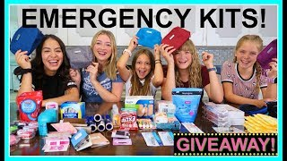 EMERGENCY KITS FOR TEEN GIRLS 2019-2020!  |  BACK TO SCHOOL!  |  PERIOD KIT!