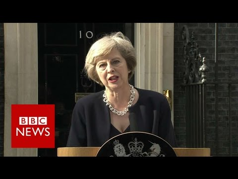 Theresa May: First speech as Prime Minister - BBC News