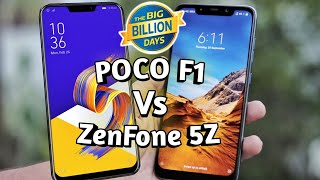 Poco F1 Vs Asus Zenfone 5Z Which One You Should Buy ? | In-Depth Comparison | With Flipkart Offers