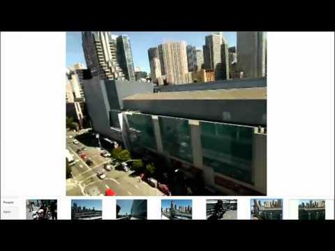 Demostración de Project Glass y las gafas de Google en directo en el Google I/O 2012