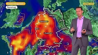 Wetter Die aktuelle Vorhersage 22.04.2018