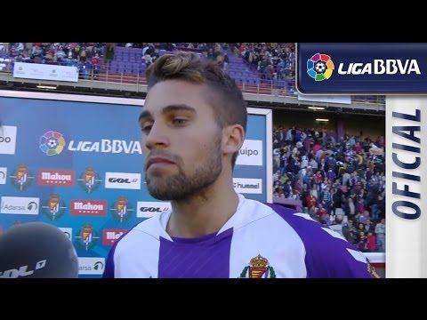 Entrevista   Interview Rossi tras el Real Valladolid (1-0) FC Barcelona - HD