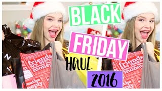 HUGE  BLACK FRIDAY HAUL 2016!!