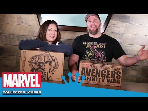 Marvel Collector Corps: Avengers Infinity War Unboxing!