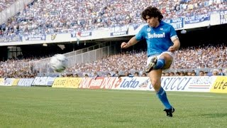 Diego Maradona ● The genius of passing