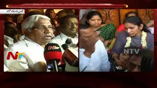 TJAC Chairman Kodandaram Responds to Sangeetha's Protest || Visits Srinivas Reddy House