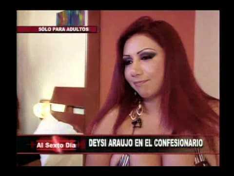 Confesionario sexual: Deysi Araujo inaugura este ardiente juego