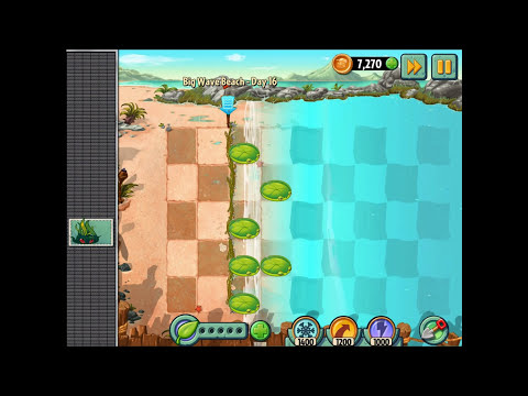 Plants vs. Zombies 2: It's About Time - Gameplay Walkthrough Part 257 - Deep Sea Gargantuars!