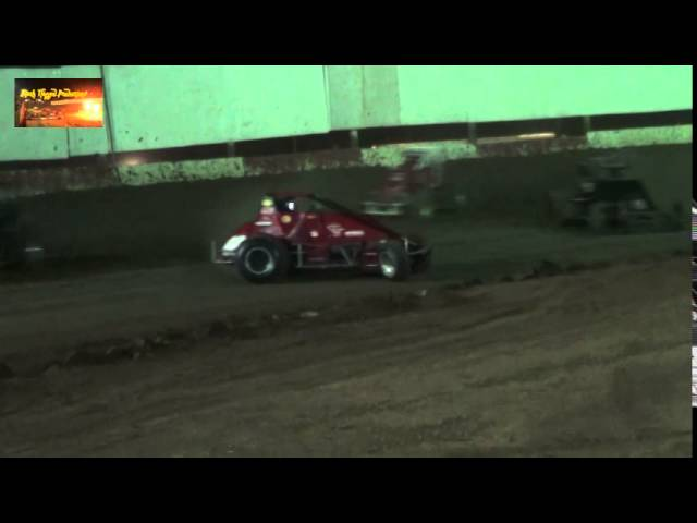 Challenge Cup Sprint Car Highlights From CSP Aug 30th 2014