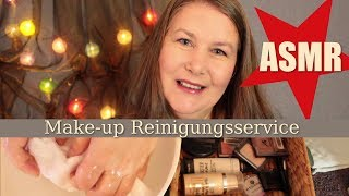 ASMR Roleplay ★ Make-up Reinigungsservice ★ Deutsch︱German