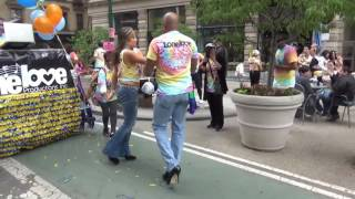 """DISCO LOVE"" NYC DANCE PARADE 2016 The Hustle"