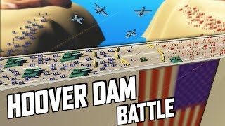 HUGE BATTLE for the Hoover Dam! (Ravenfield Gameplay - Early Access New Custom Map)