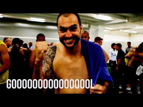 #PALXCOR - 45' / 2ºT - Danilo bate firme de esquerda e empata o clássico
