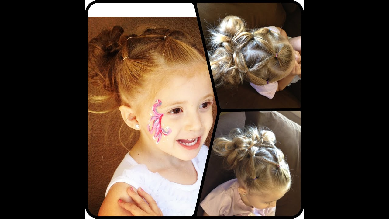Toddler Hair Tutorial Youtube