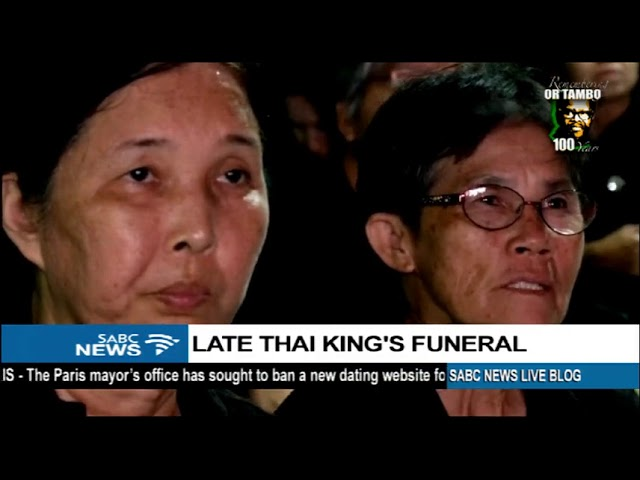 Late Thai King's funeral: Paisit Boonparlit