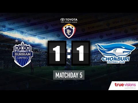 Highlight TPL 2015 - Buriram United 1-1 Chonburi FC