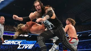Dolph Ziggler vs. Baron Corbin vs. AJ Styles- WWE Title Triple Threat Match: SmackDown LIVE, Dec. 27
