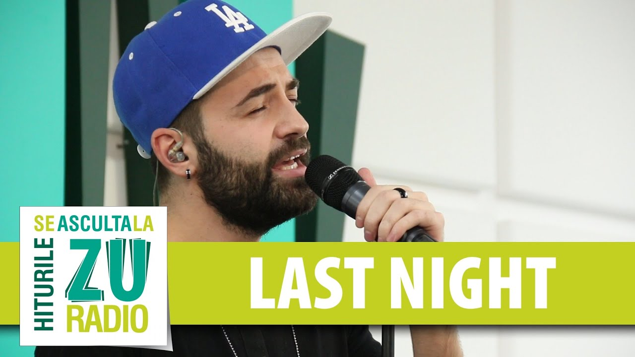 Last Night - Lean On (Cover Major Lazer) (Live la Radio ZU)
