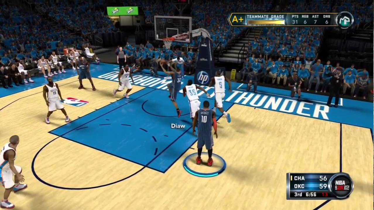 NBA 2k12 My Player Playoffs: NBA Finals Game 1 Kevin Durant vs MVP Neal Bridges Highlights - YouTube