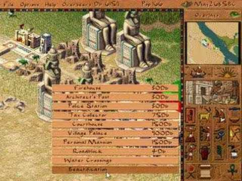Pharaoh City Builder