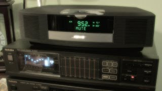 Bose Wave Radio Music System III Sound Test with Bluetooth Adapter and iPod Nano