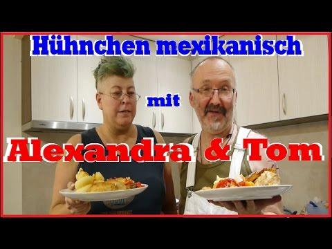 Hähnchen / Hühnchen mexikanisch. Internationales kochen in Bulgarien. :)