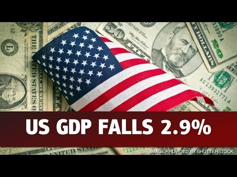 US GDP Drops