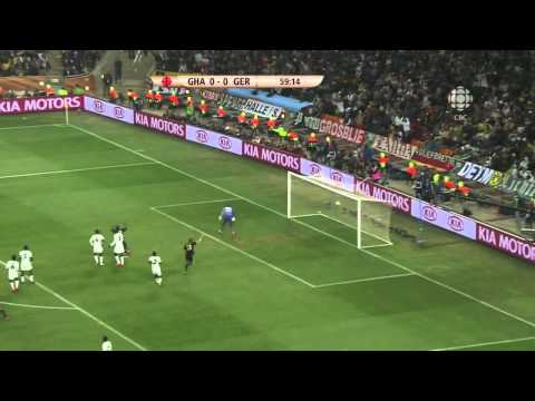 Mesut Ozil Golazo - Germany v Ghana 2010 World Cup
