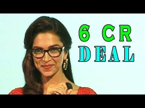 Deepika Padukone Signed For A Food Brand | Bollywood News video